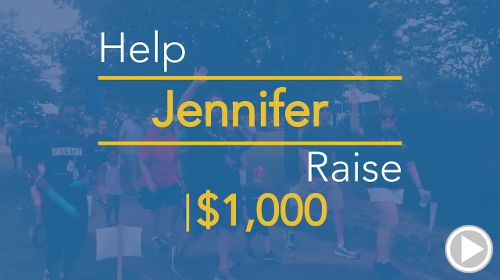 Help Jennifer raise $1,000.00