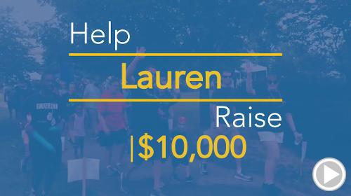Help Lauren raise $10,000.00
