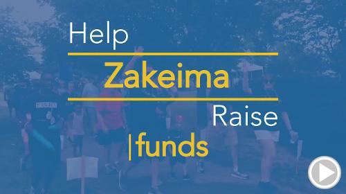 Help Zakeima raise $0.00