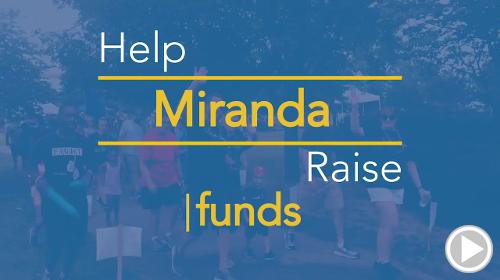 Help Miranda raise $0.00
