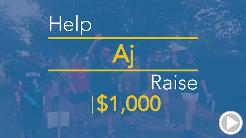 Help Aj raise $1,000.00