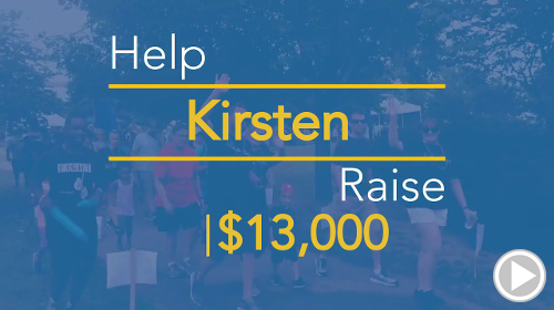 Help Kirsten raise $13,000.00