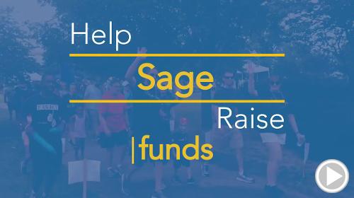 Help Sage raise $0.00