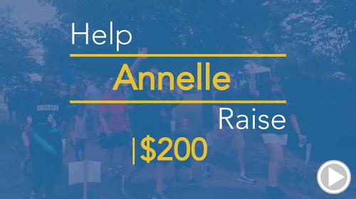 Help Annelle raise $200.00