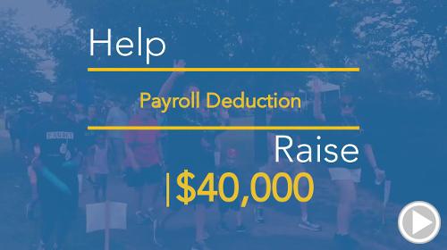 Help Employee Giving raise $40,000.00