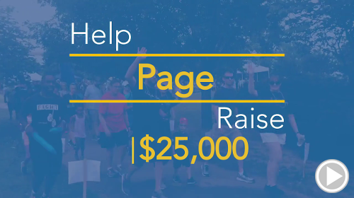 Help Page raise $25,000.00