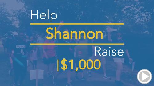 Help Shannon raise $4,500.00