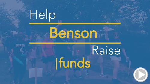 Help Benson raise $0.00